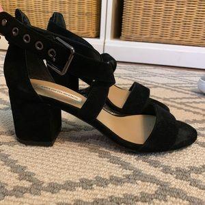 Saks Fifth Ave crossover heels